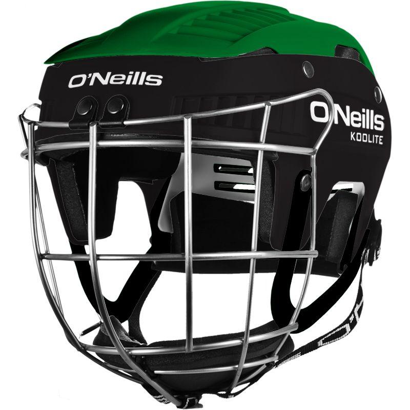 Koolite Hurling Helmet Green / Black