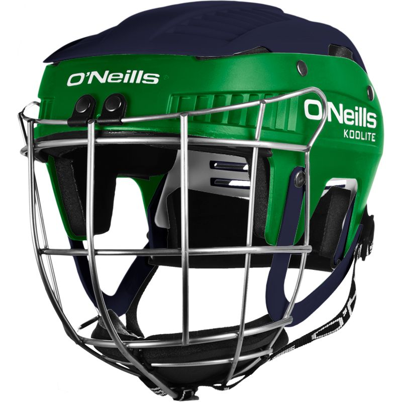 Koolite Hurling Helmet Green / Marine