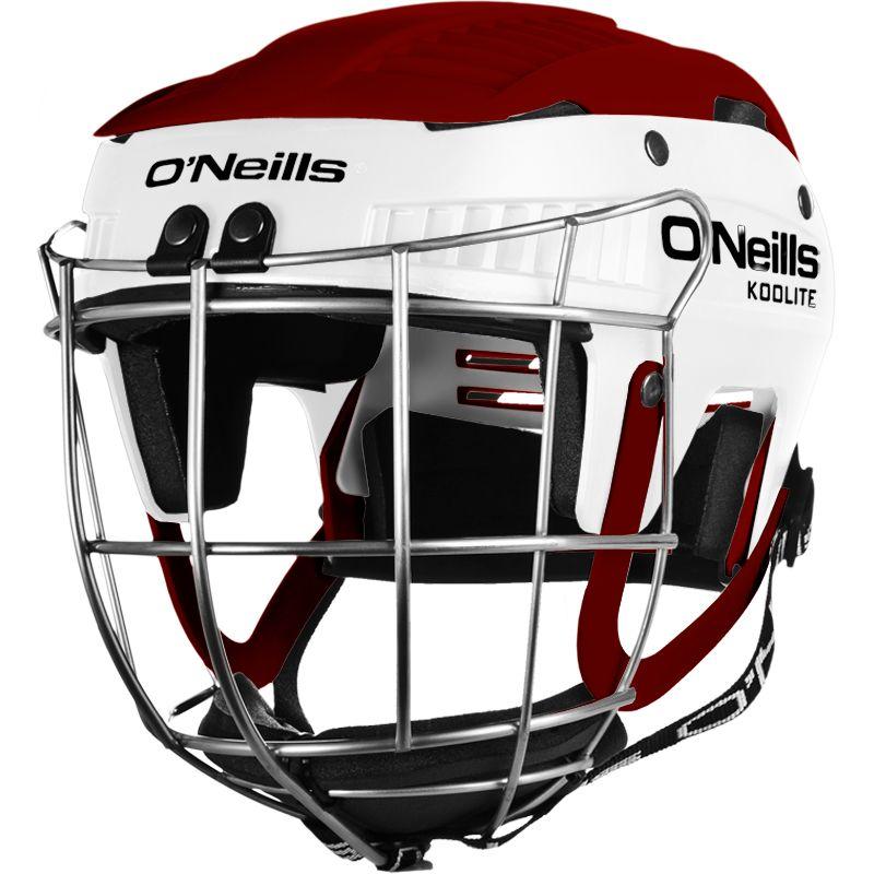 Koolite Hurling Helmet White / Maroon