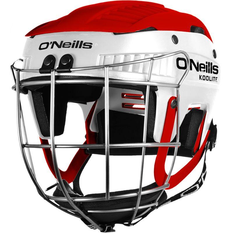 Koolite Hurling Helmet White / Red