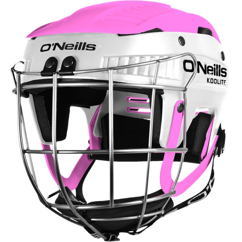 Koolite Hurling Helmet White / Pink