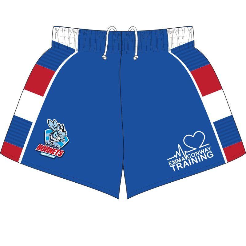 Rochdale Hornets RL Home Shorts Kids