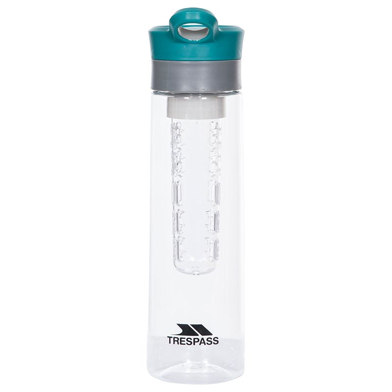 Trespass Infuser Water Bottle Clear