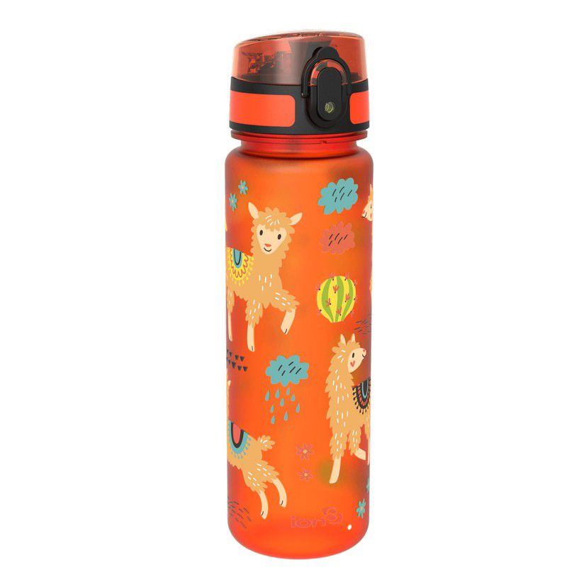 Ion8 Slim Water Bottle 500ml Llamas