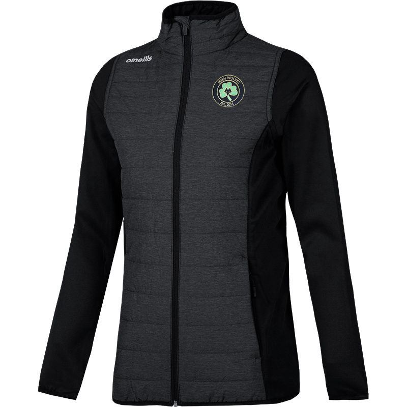 Irish Wolves Supporters Club Katie Lightweight Padded Jacket