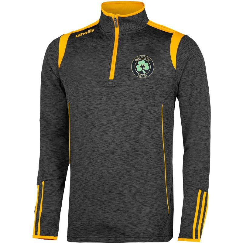 Irish Wolves Supporters Club Solar Brushed Half Zip Top