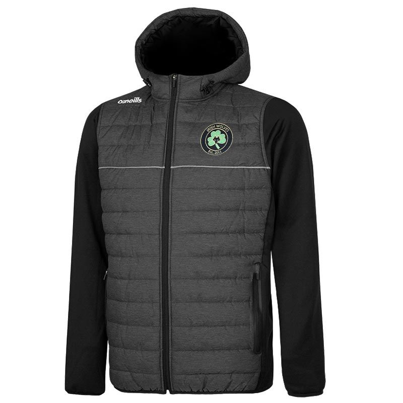 Irish Wolves Supporters Club Kids' Harrison Lightweight Padded Jacket
