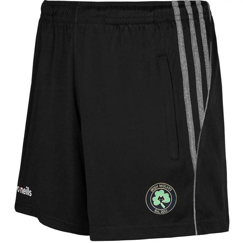 Irish Wolves Supporters Club Solar Poly Shorts