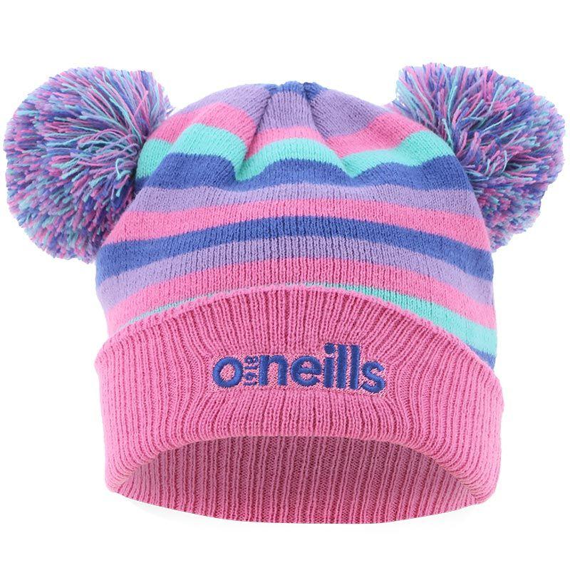 Jemma Bobble Hat Pink / Blue / Purple / Green