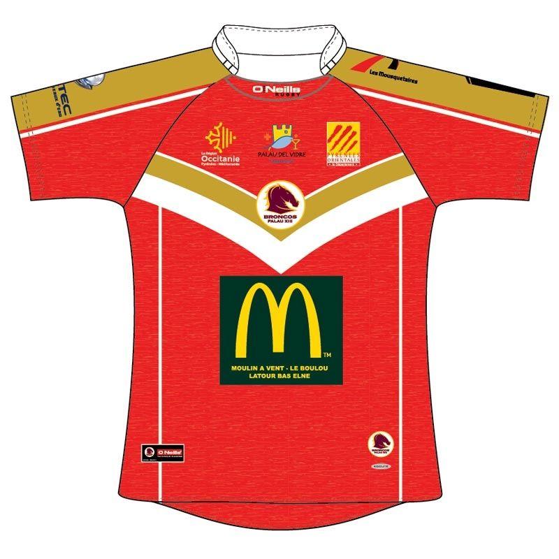 Broncos Palau XIII Rugby Jersey (Kids)