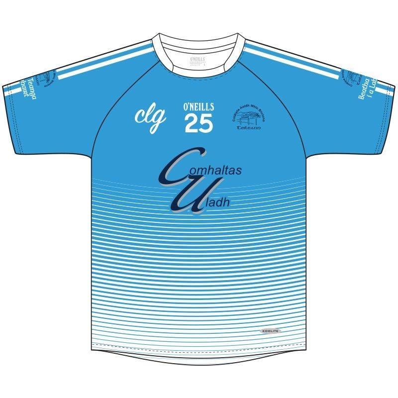 Coláiste Aoidh Mhic Bhricne, Teileann GAA Jersey (Blue)