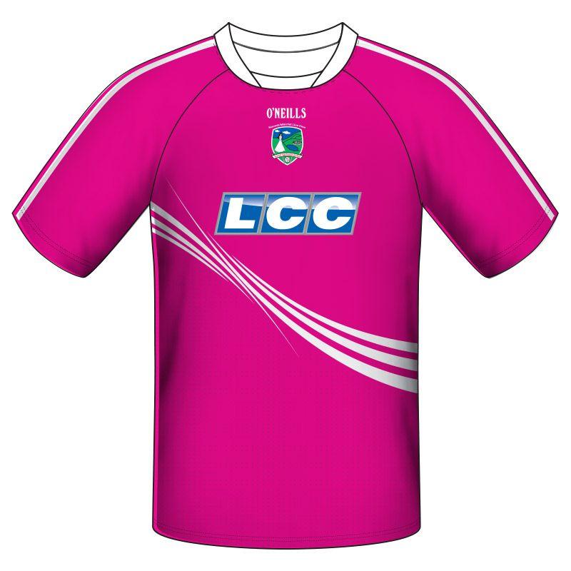 Lissan GAC GAA Training Short Sleeve Top Kids (Pink)