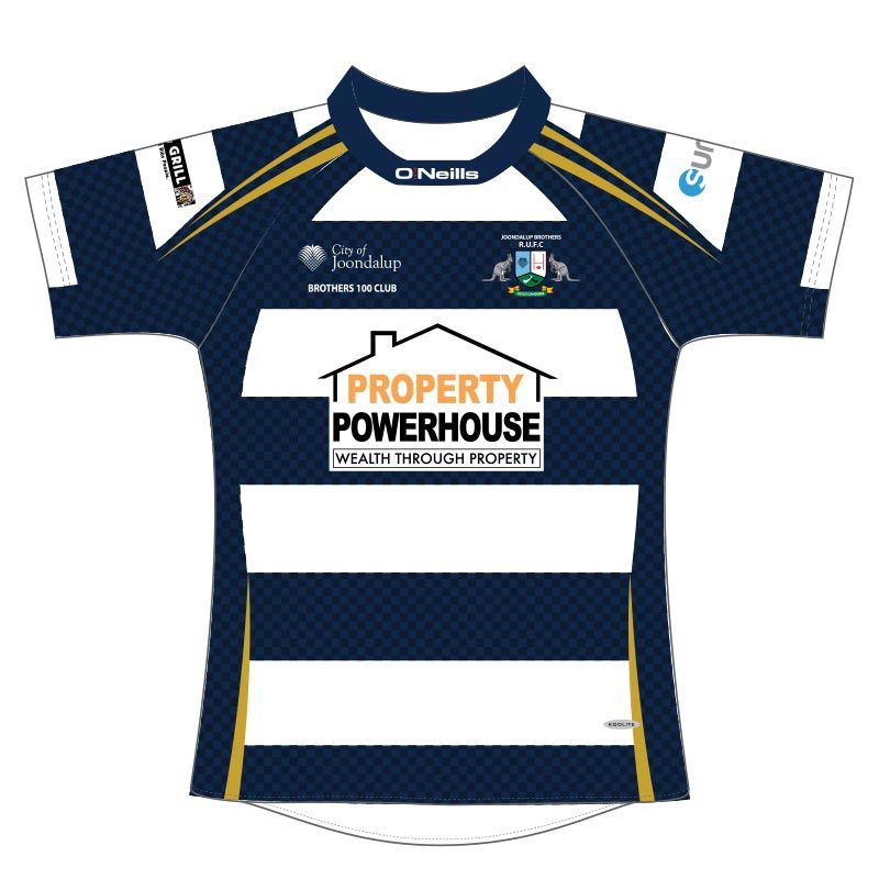 Joondalup Brothers R.U.F.C. Rugby Jersey (Property Powerhouse)