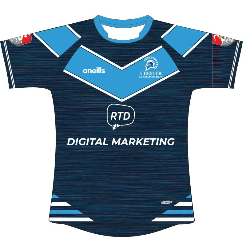 Chester Gladiators RL Rugby Jersey Kids