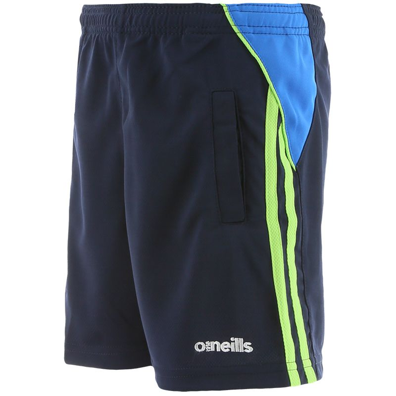 Kids' Jude Poly Training Shorts Marine / Blue / Green