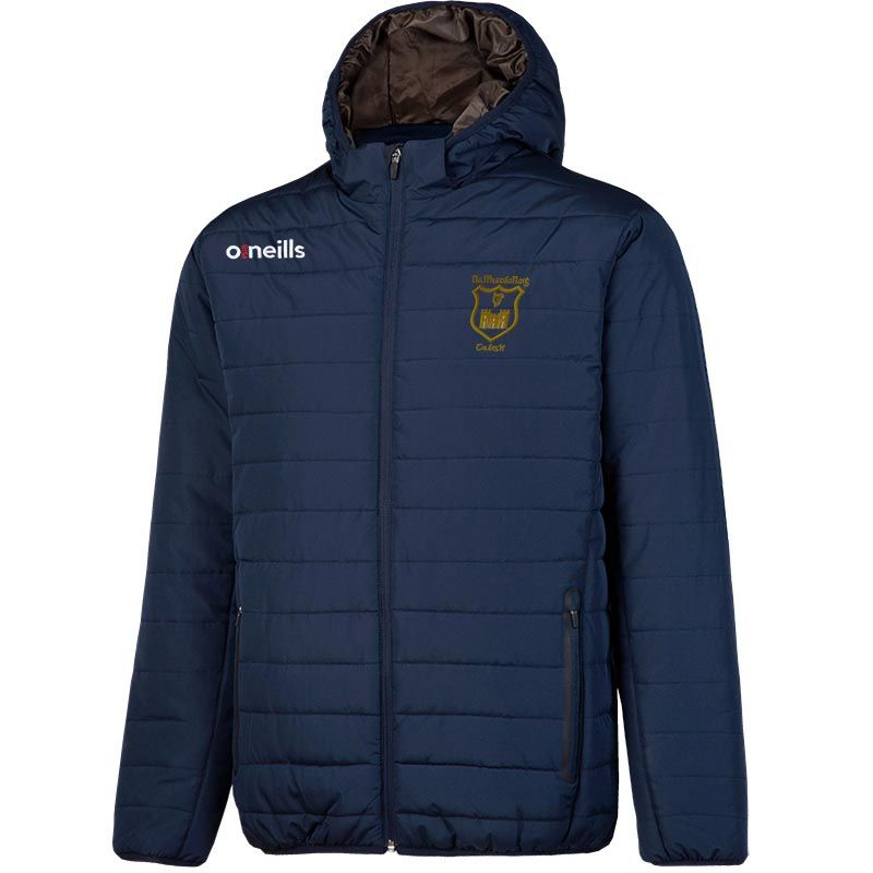 John Mitchels GAA Kerry Kids' Solar Hooded Padded Jacket