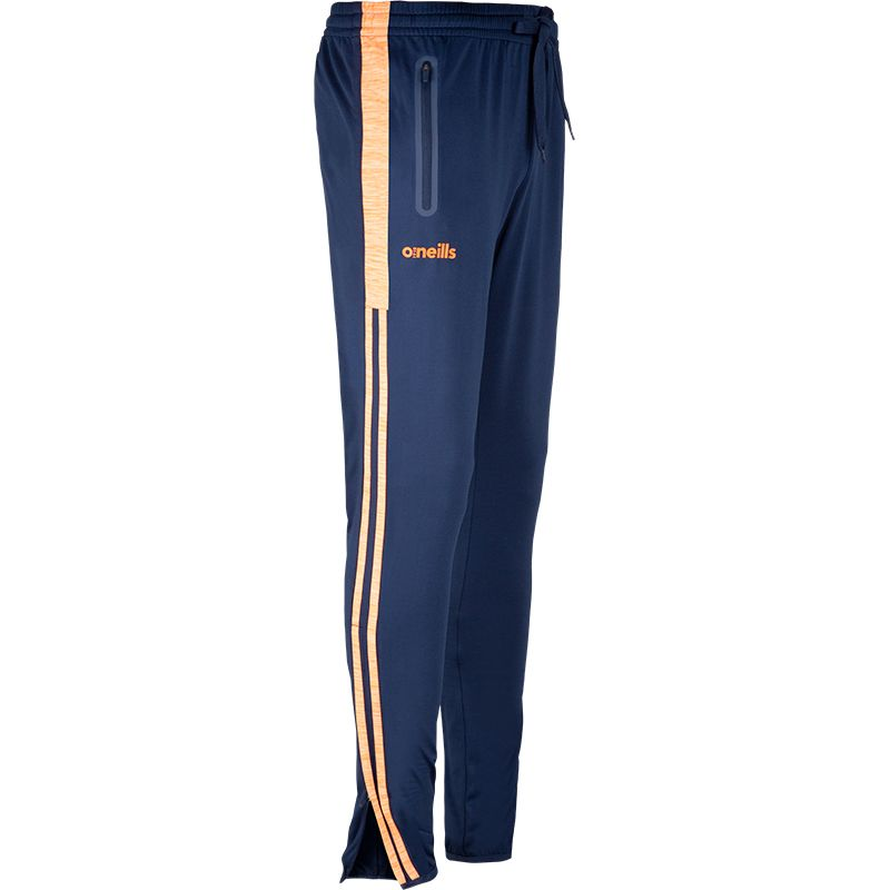 Kane Brushed Skinny Pants Marine / Orange