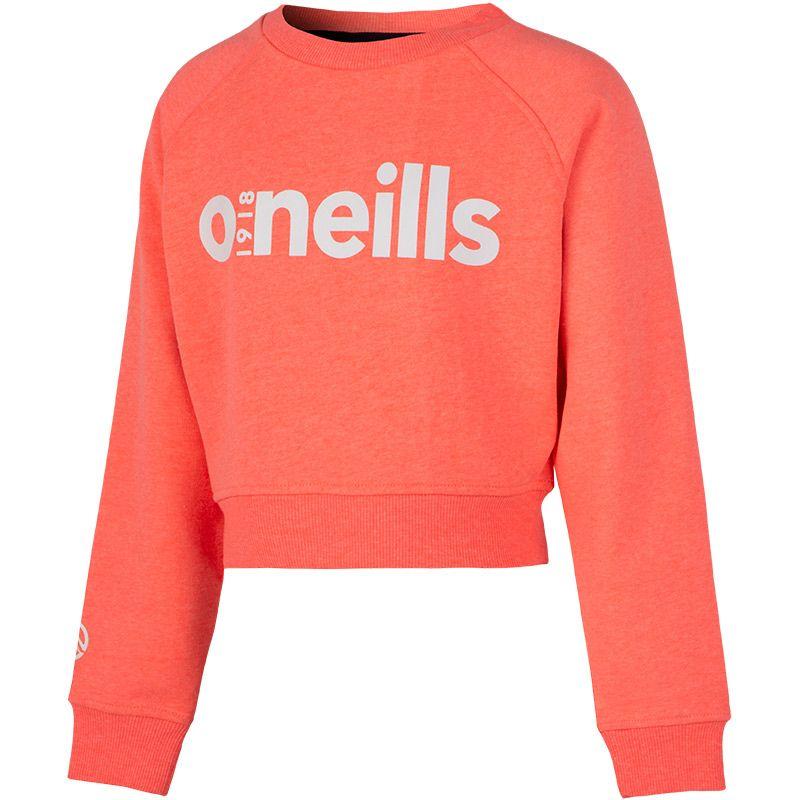 Kids' Kendall Cropped Sweatshirt Pink / Black / White