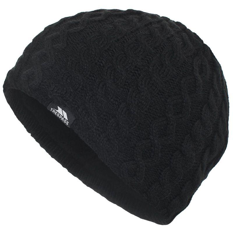 Women's Trespass Kendra Wooley Hat Black