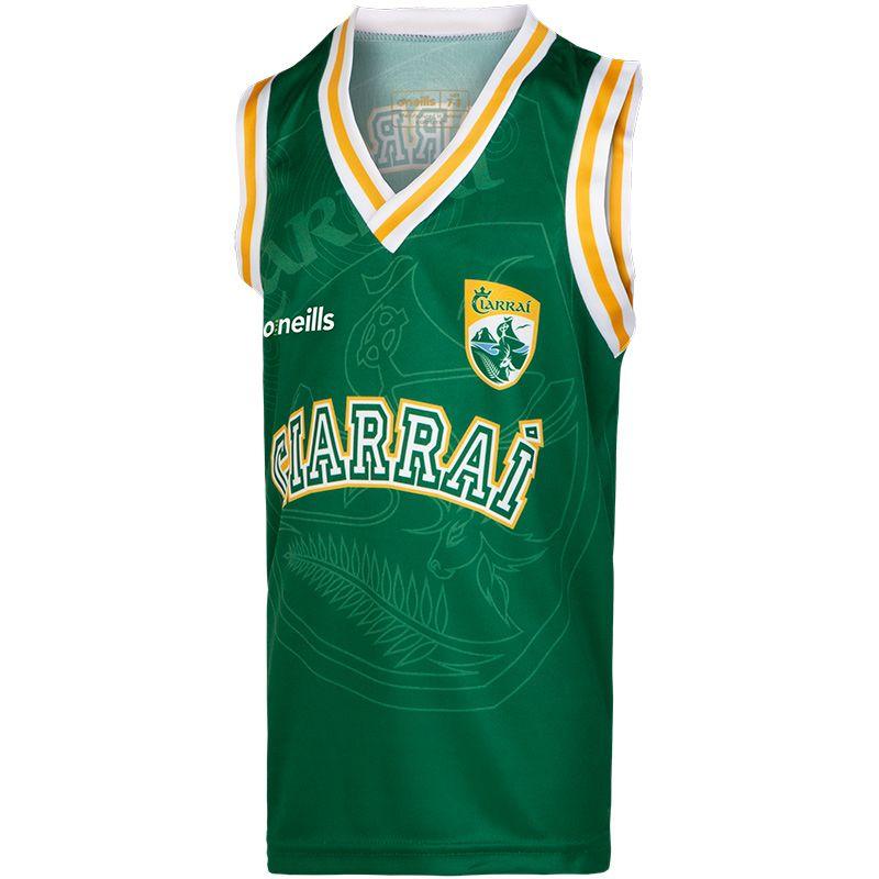 Kerry GAA Kids' Basketball Vest
