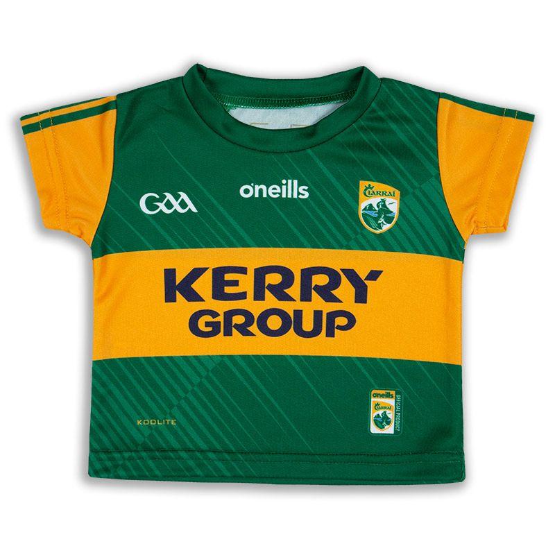Kerry GAA Baby 2 Stripe Home Jersey
