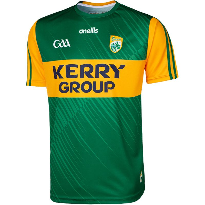 Kerry GAA 2 Stripe Home Jersey