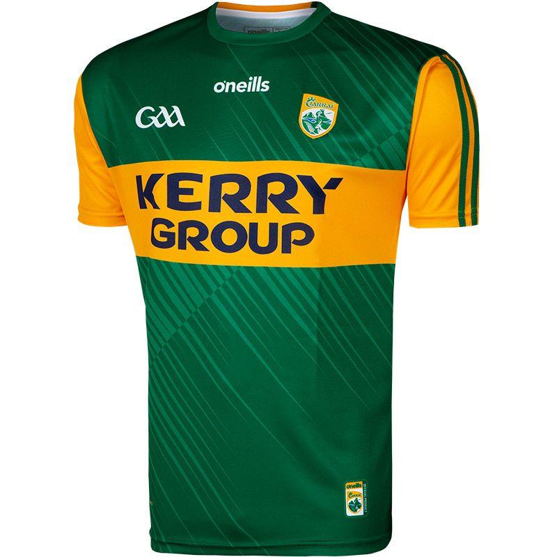 Kerry GAA Player Fit 2 Stripe Home Jersey