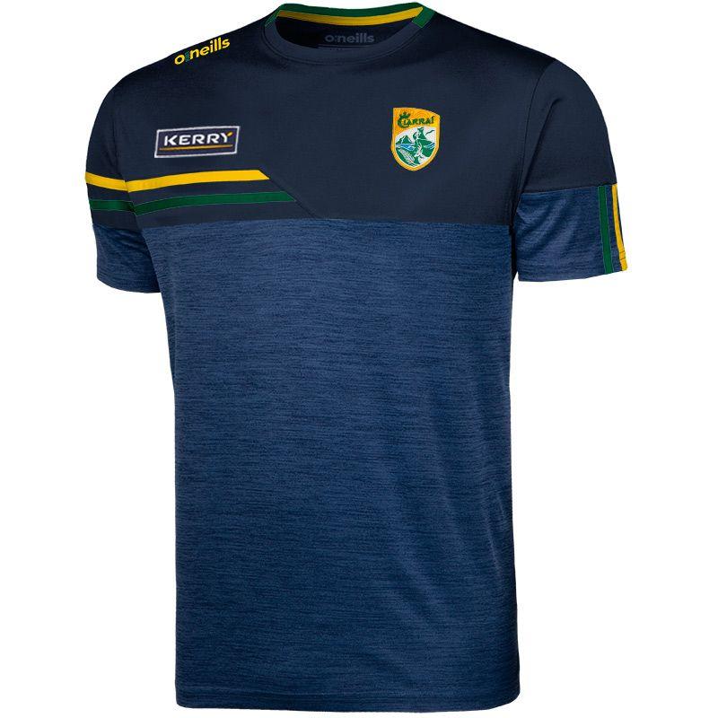Kerry GAA Kids' Nevis T-Shirt Marine / Amber