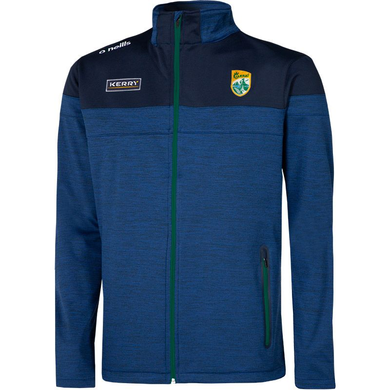 Kerry GAA Men's Nevis Soft Shell Jacket Marine / Bottle