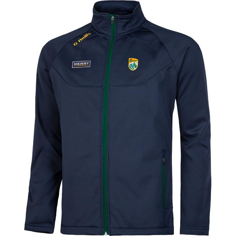 Kerry GAA Solar Soft Shell Jacket (Marine/Bottle/Amber