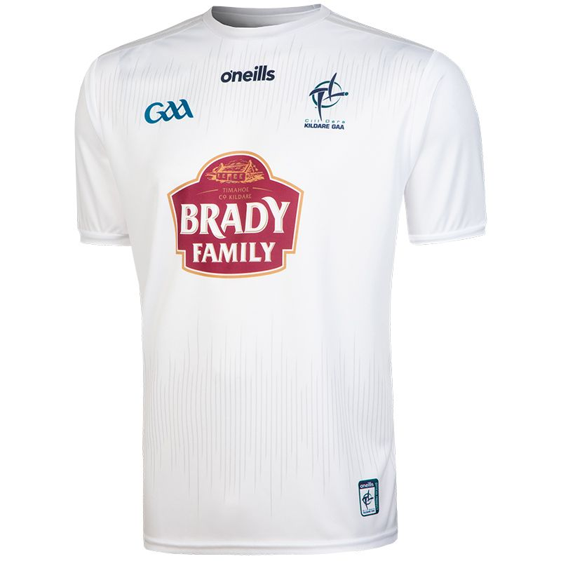 Kildare GAA Kids' 2-Stripe Home Jersey