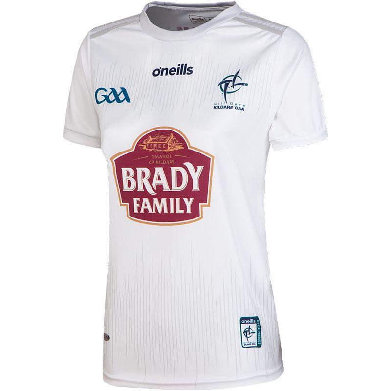 Kildare GAA Women's Fit 2-Stripe Home Jersey