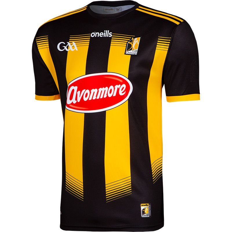 Kilkenny GAA Player Fit 2 Stripe Home Jersey