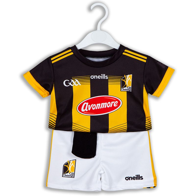 Kilkenny GAA 2 Stripe Home Mini Kit