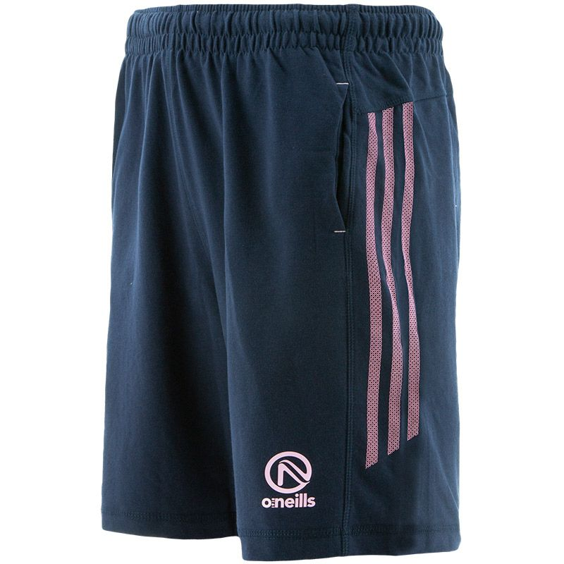 Kids' Kingston French Terry Leisure Shorts Marine / Pink