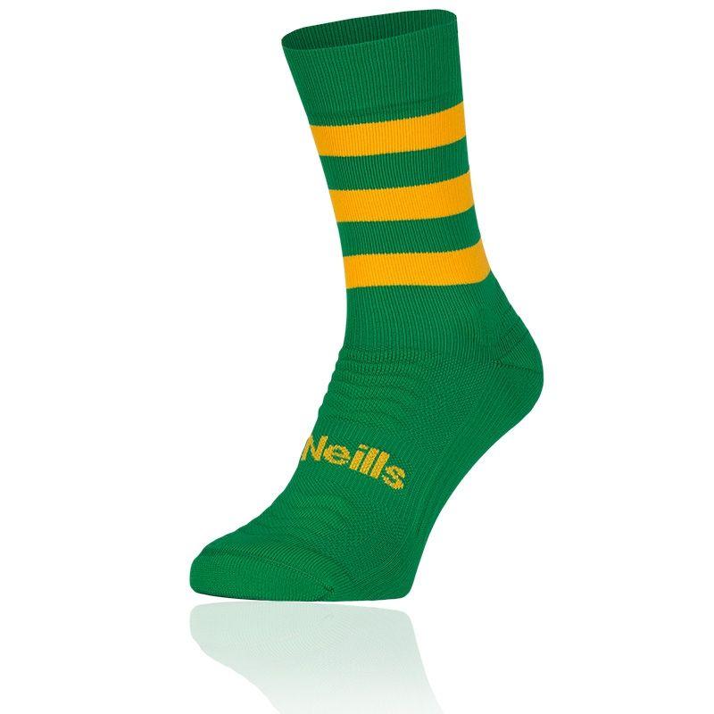 Koolite Pro Midi Hoop Socks (Emerald/Amber) (Kids)