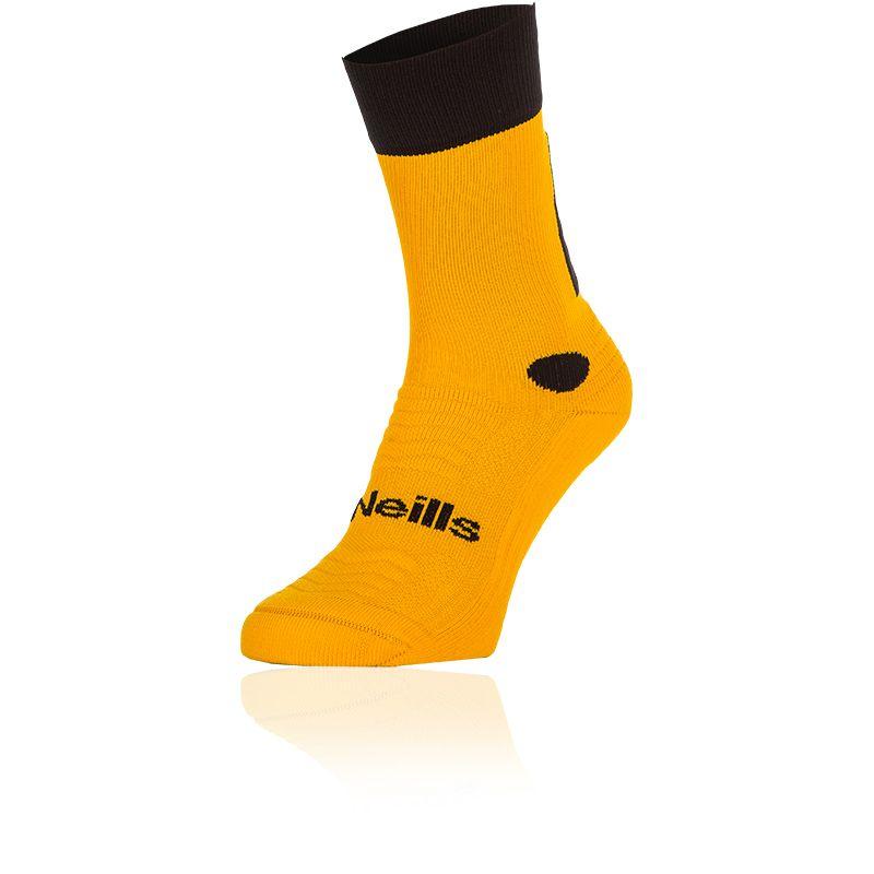 Kids' Koolite Pro Midi Socks Amber / Black