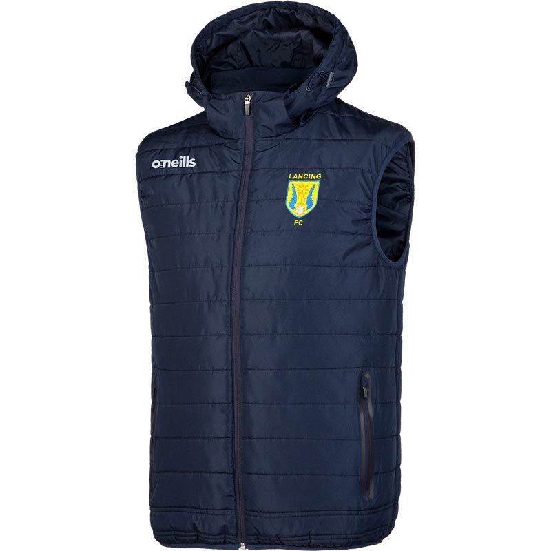 Lancing FC Solar Hooded Gilet