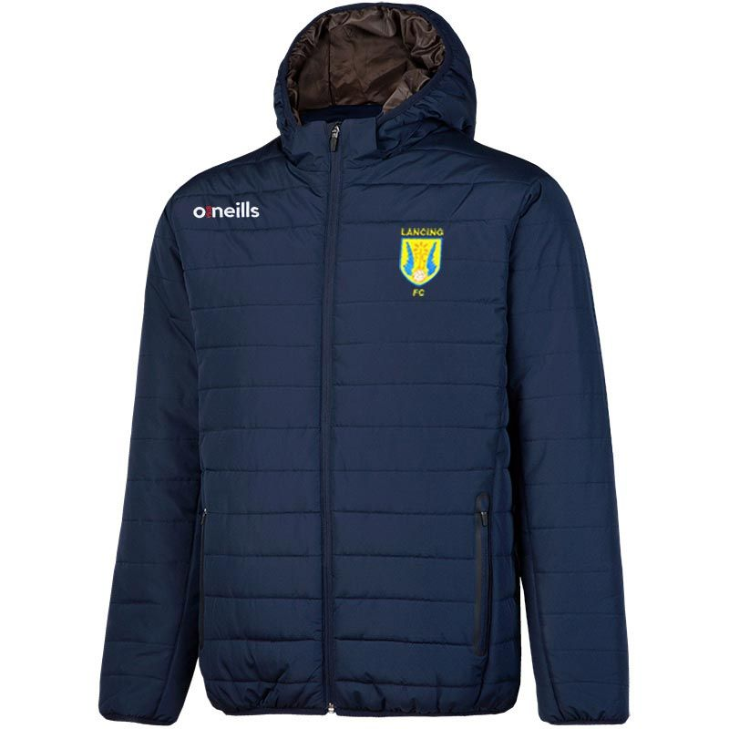 Lancing FC Kids' Solar Hooded Padded Jacket