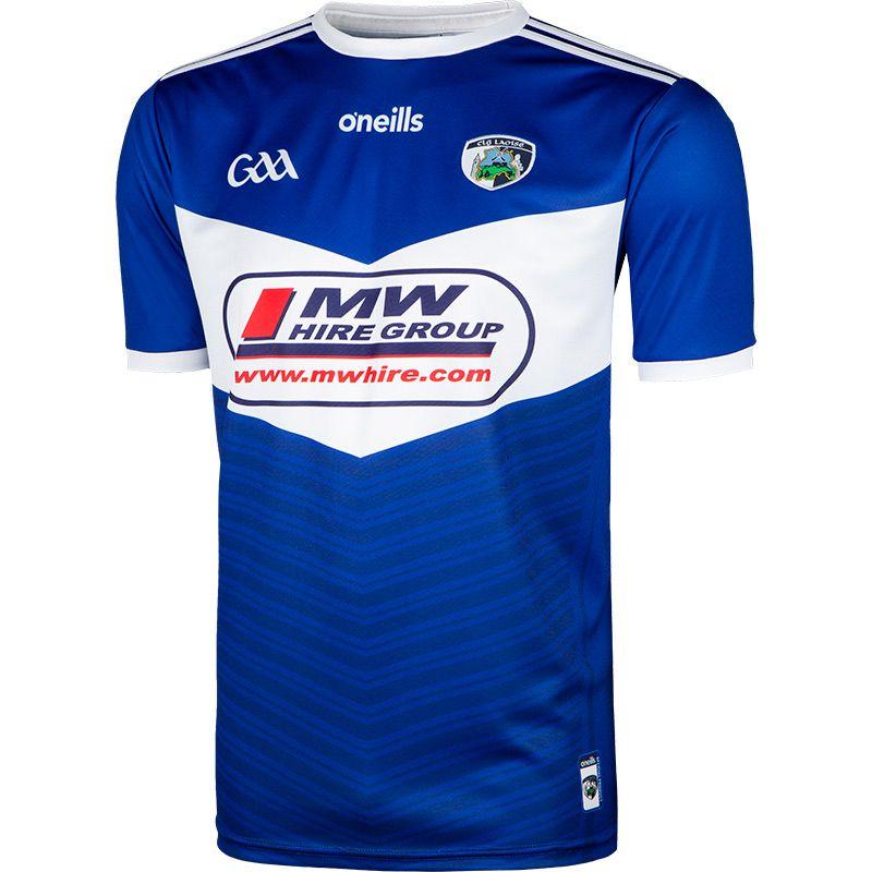 Laois GAA Player Fit 2 Stripe Home Jersey