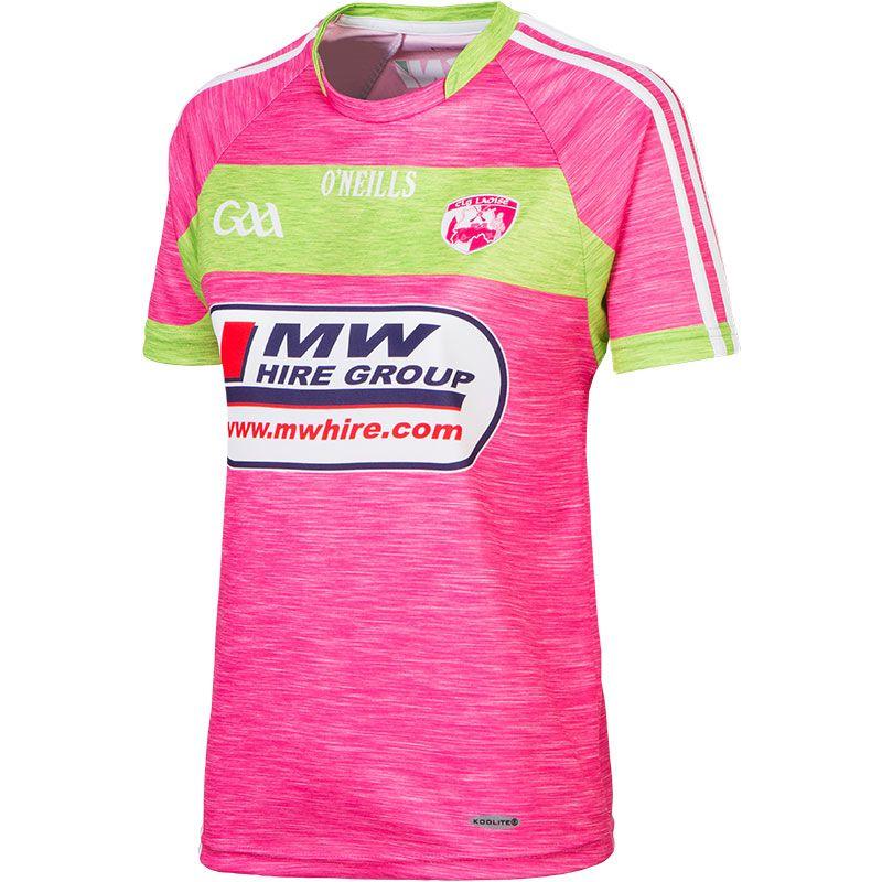 Laois GAA Womens Fit Jersey (Pink)