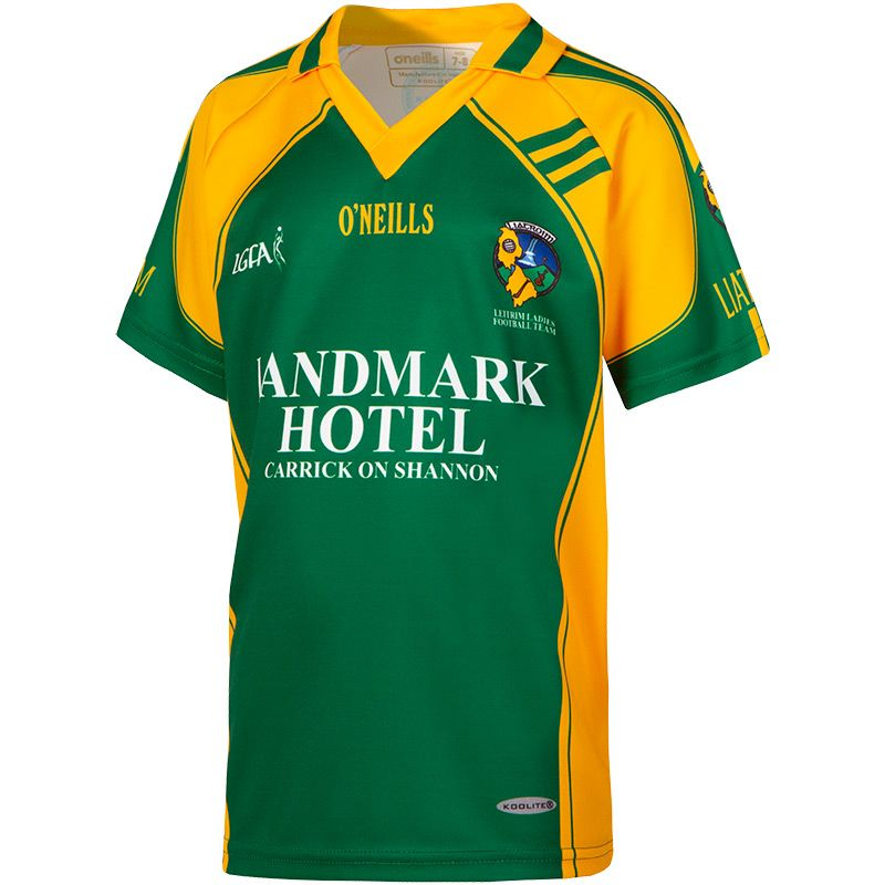 Leitrim LGFA Kids' Away Jersey
