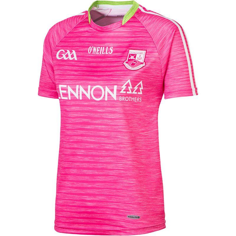 Longford GAA Womens Fit Jersey (Pink)