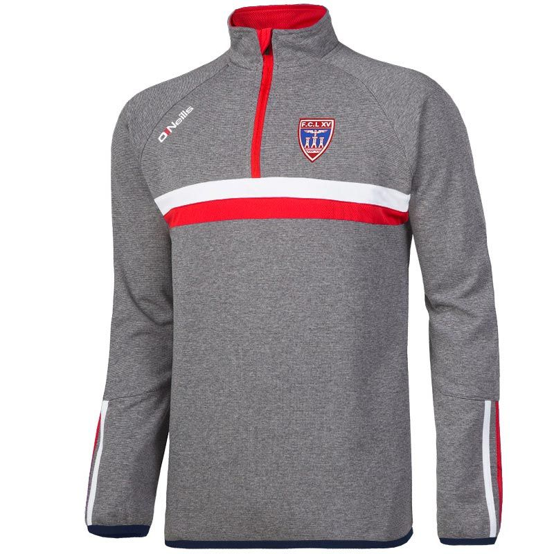 Lourdes Rugby Rick Half Zip Fleece Top