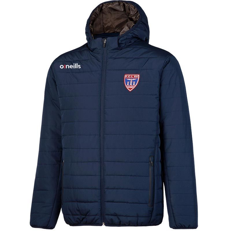 Lourdes Rugby Solar Mens Hooded Padded Jacket