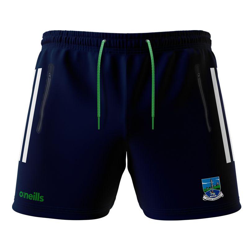 Fermanagh GAA Kids' Voyager Shorts  Marine / White / Green