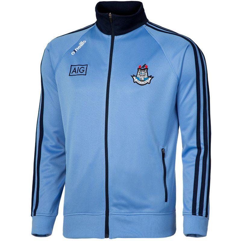 Dublin GAA Men's Marlon 3 Stripe Retro Jacket Sky / Marine