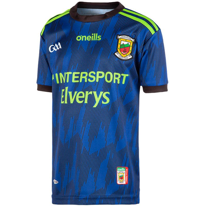 Mayo GAA Alternate Replica 2-Stripe Jersey (Kids)