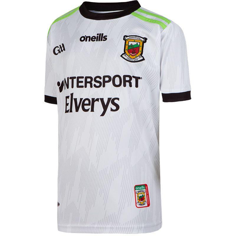 Mayo GAA Kids' Away Alternate Goalkeeper 2-Stripe Jersey