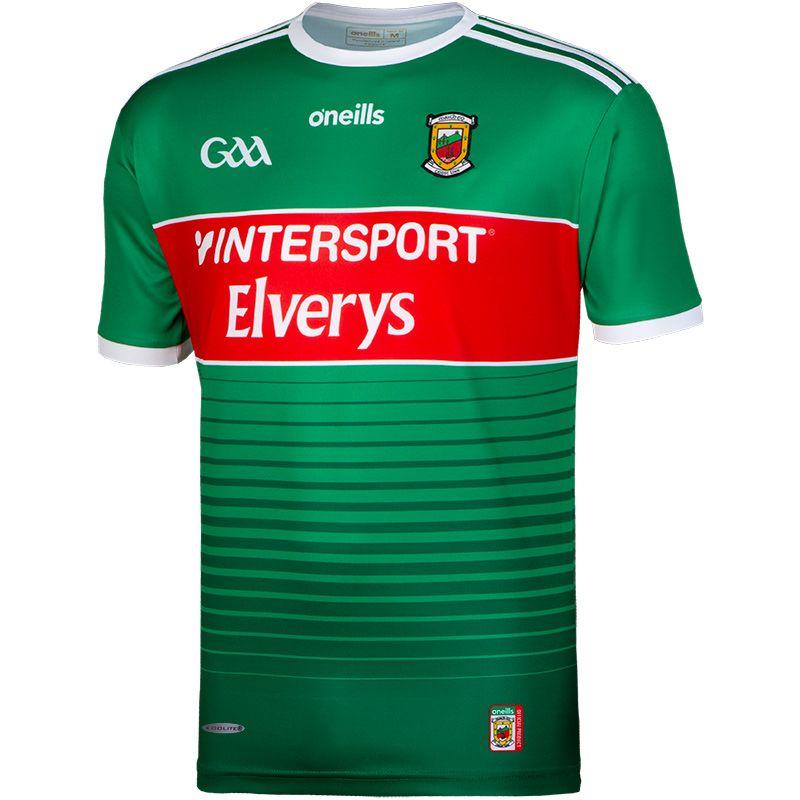 Mayo GAA 2-Stripe Player Fit Home Jersey
